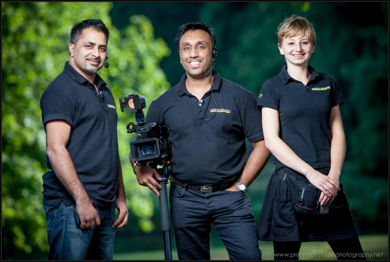 Three main team members of Perfect Imaging Productions
